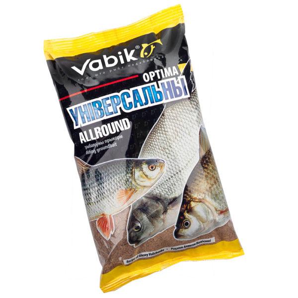 Прикормка для рыбалки Vabik Optima Универсальная