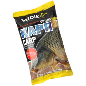 Прикормка для рыбалки на карпа Vabik Optima (клубника)