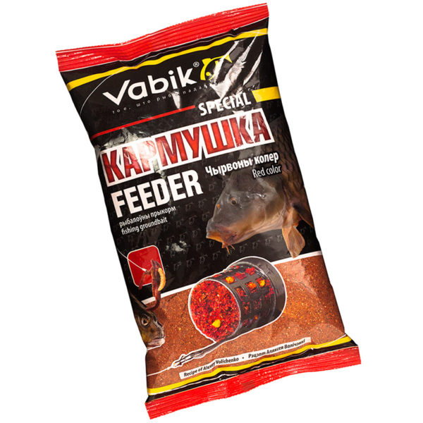 прикормка vabik special feeder red