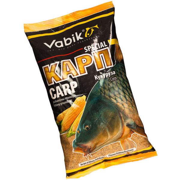 прикормка vabik special карп (кукуруза)