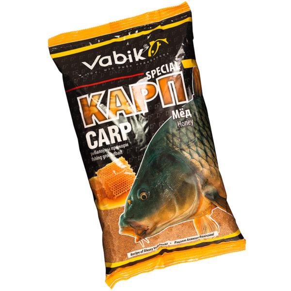 прикормка vabik special карп (мед)