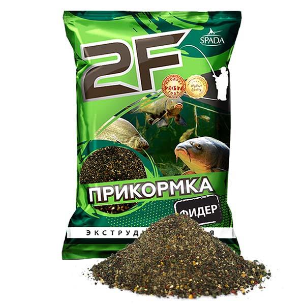 прикормка 2F Фидер черный