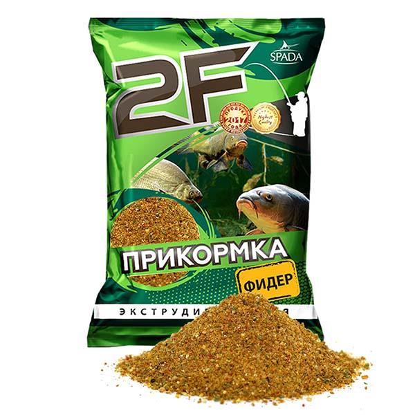 прикормка 2F Фидер желтый