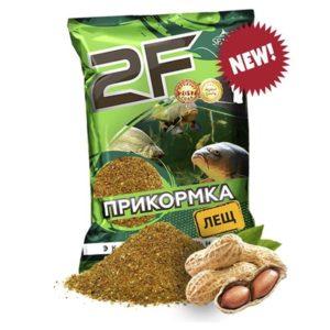 прикормка 2F лещ (арахис)
